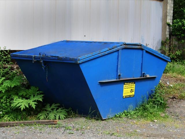 Container - 7m³ Deckelmulde