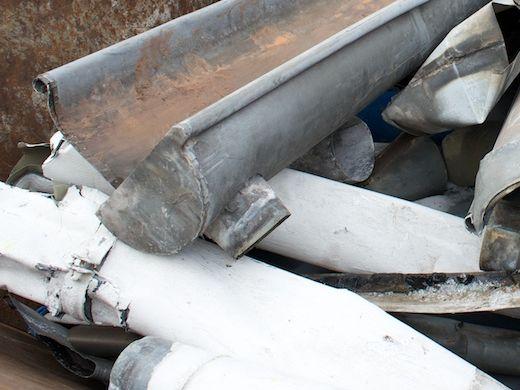 Dachrinne zink alt  NE-Metalle - Schrotthandel & Containerdienst Hagen | Schrottankauf