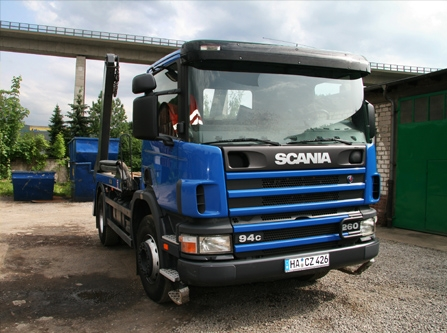 LKW - Scania 94c 260 - Frontansicht