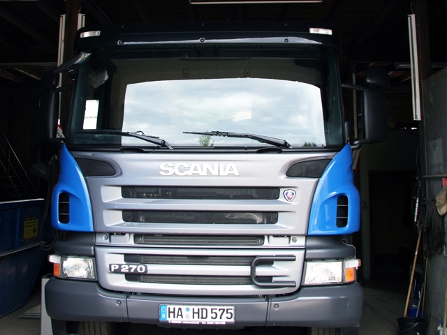 LKW - Scania P270 Frontansicht