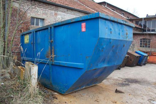 17 Kubikmeter Container mit Tür