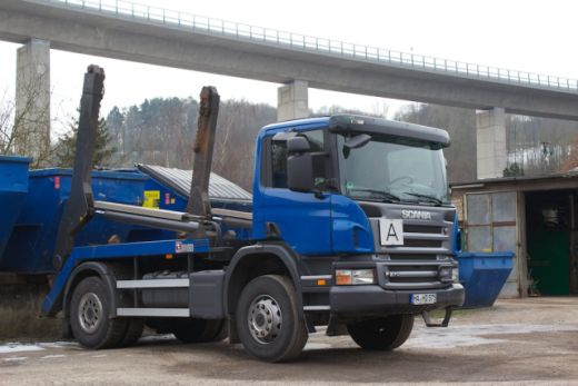 Scania Absetzkipper